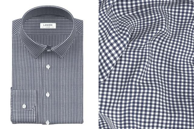Lanieri Made-To-Measure Seersucker shirt