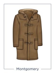 manteau montgomery
