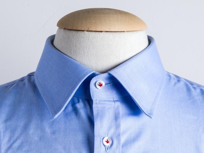 Col de chemise: le semi-français