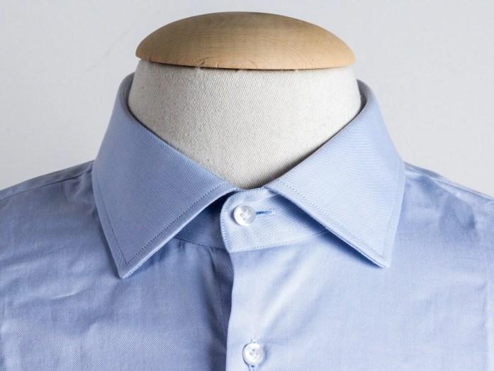 Colletto semi francese per la camicia
