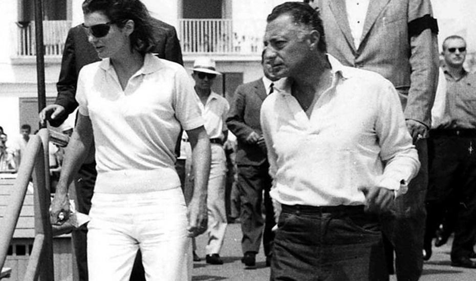 Jacqueline Kennedy. Gianni Agnelli
