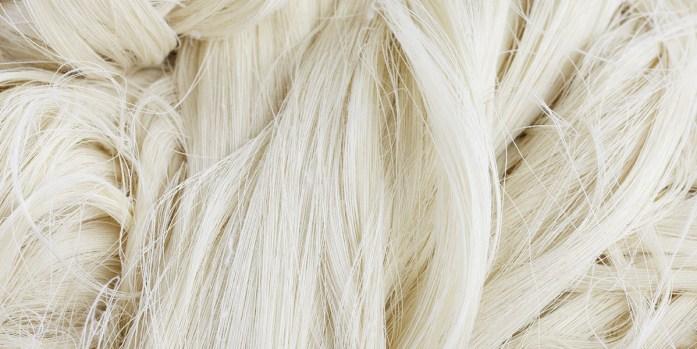 Fibre bianche di lino
