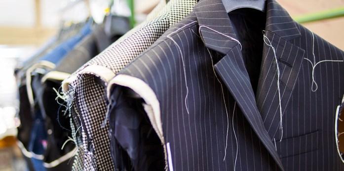 Dettagli di giacche su misura Lanieri