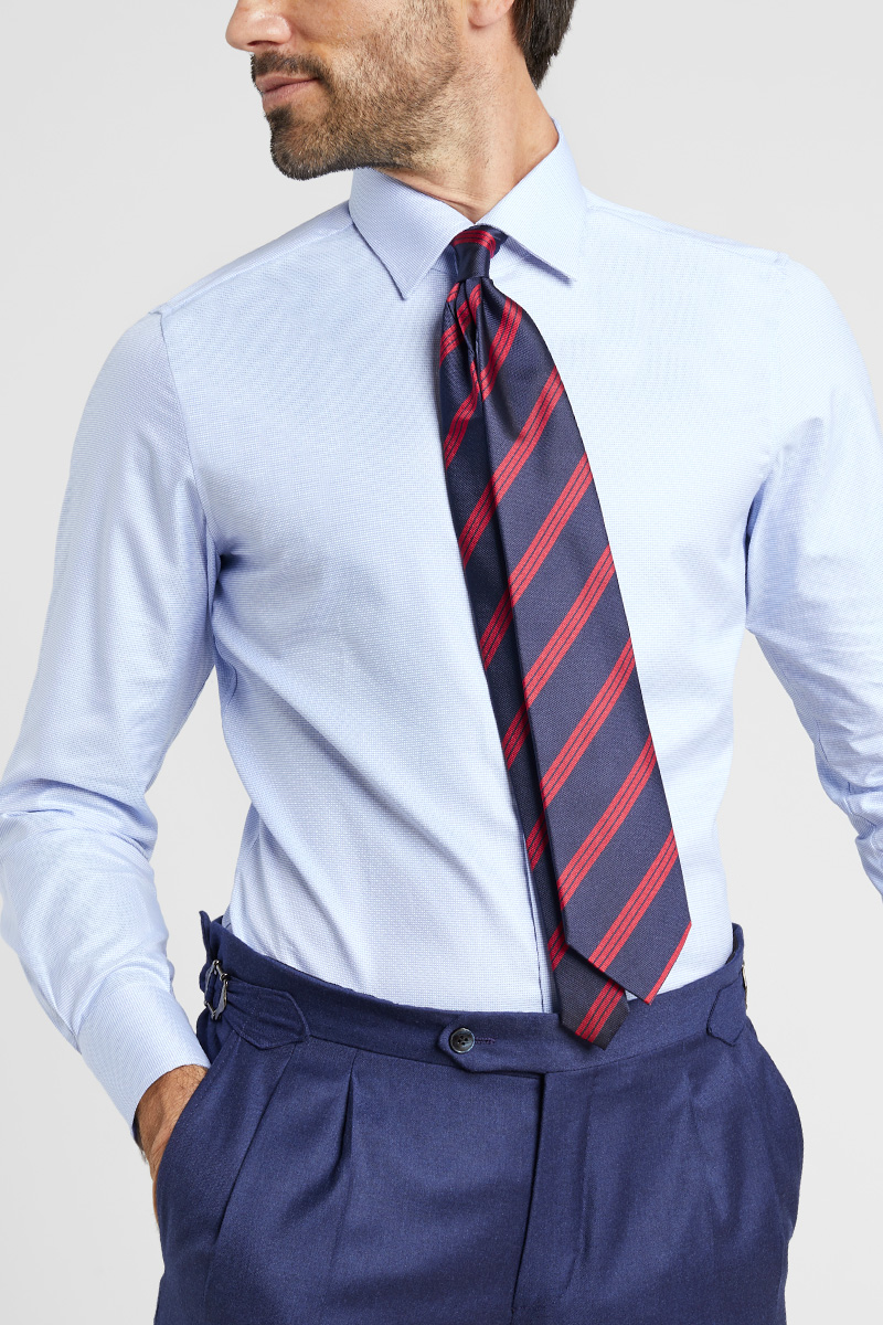 l'atteggiamento migliore 3438a a0d18 Cravatta e camicia: guida all'abbinamento perfetto ...