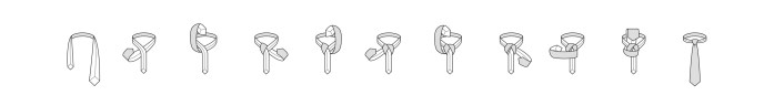 Nodo alla cravatta Balthus passaggi