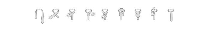 Onassis knot steps