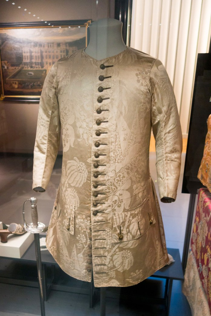 Image of an old beige waistcoat