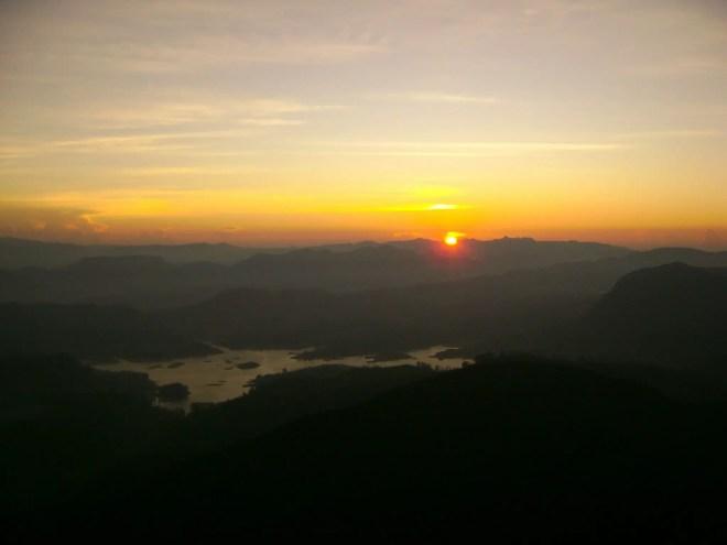 Sun Rise at Adam's Peak