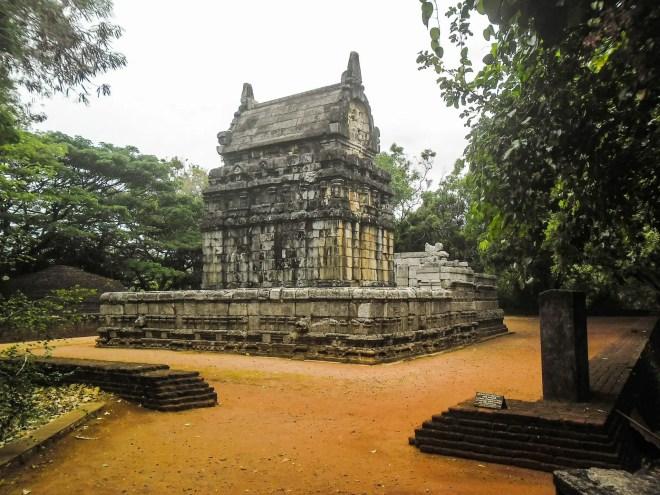 Nalanda Gedige - Rear View
