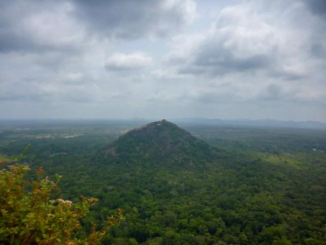 Pidurangala Rock from Sigiriya