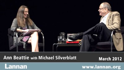 Ann Beattie with Michael Silverblatt