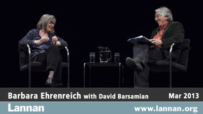 Barbara Ehrenreich with David Barsamian