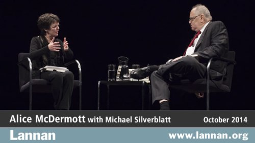 Alice McDermott with Michael Silverblatt