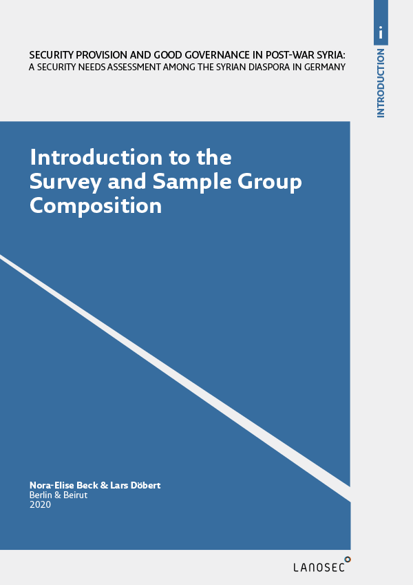 Introduction to the Survey and Sample Group Composition
