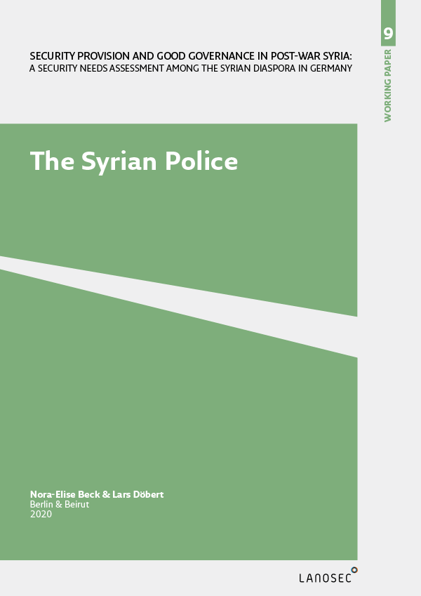 Working Paper 9: The Syrian Police