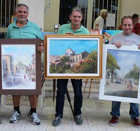 """Pittura …""""in diretta dal borgo"""""""