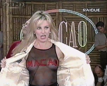 Alba Parietti conduttrice tv