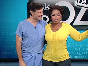 Il Dr. Oz con Oprah Winfrey foto
