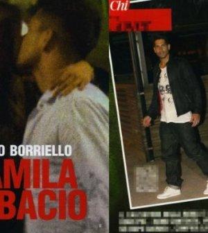 Marco Boriello e Camila Morais