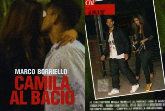Marco Borriello e Camila Morais Scoop Chi Foto