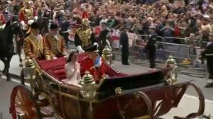carrozza william & kate Foto