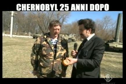 Chernobyl Le Iene ItaliaUno Foto