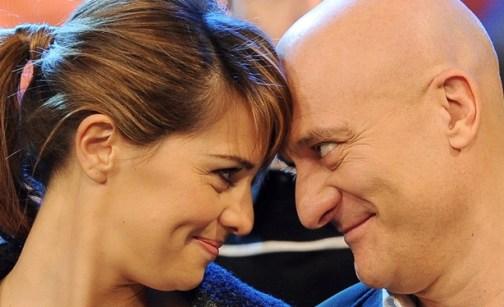 Paola Cortellesi e Claudio Bisio Zelig Svisti mai visti Canale5 Foto