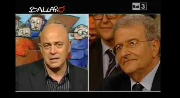 Maurizio Crozza Ballarò Foto