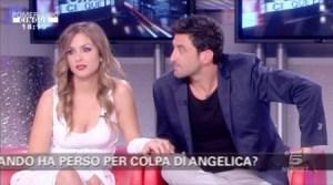 Angelica e Ferdinando GF11 Canale5 Pomeriggio Cinque Foto