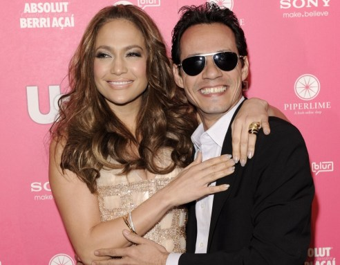 Jennifer Lopez e Marc Anthony Foto