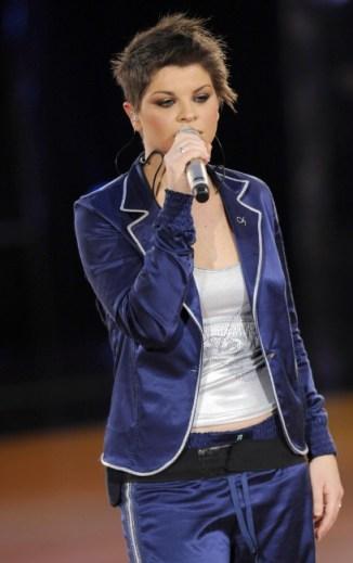 Foto di Alessandra Amoroso in concerto a Lecce