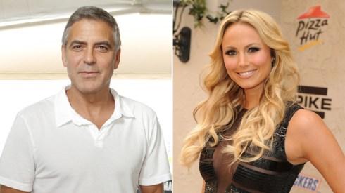George Clooney e Stacy Keibler flirt Foto