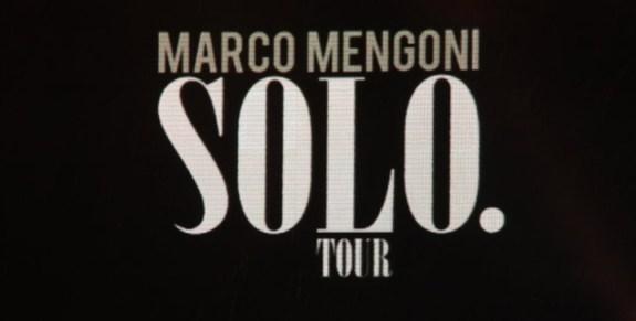 Marco Mengoni Solo Tour Foto