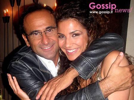 Carlo Conti e Roberta Morise Foto