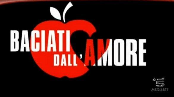 Logo Baciati dall'amore fiction con Pietro Taricone
