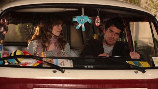 Foto di una scena di Baciati dall'amore con Giampaolo Morelli e Gaia Bermani Amaral