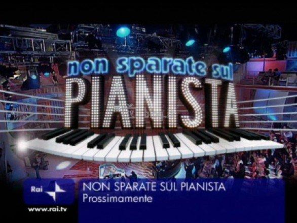 La foto della scenografia di Non sparate sul pianista