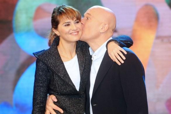 Claudio Bisio e Paola Cortellesi Zelig Canale5 Foto