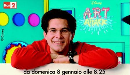 Tredicesima stagione Art Attack su Rai 2