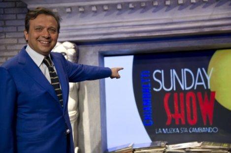 Chiambretti Sunday Show Piero Chiambretti