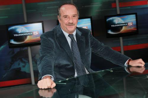 Il direttore del Tg5 Clemente Mimun
