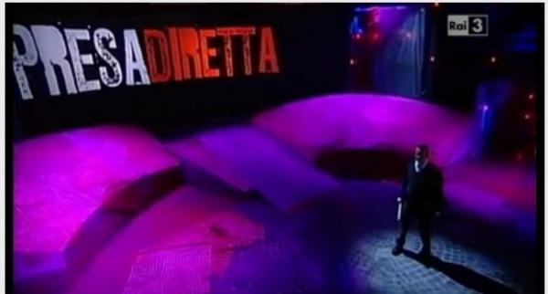 Presa Diretta in onda su Rai Tre