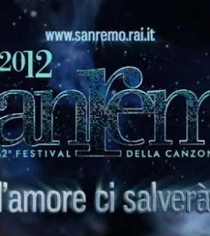 sanremo 2012 logo l'amore ci salverà