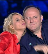 Gerry Scotti e Maria De Filippi giudici di Italia's Got Talent