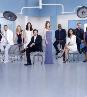 il cast di grey's anatomy 8