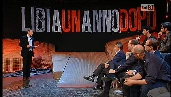 Riccardo Iacona conduce Libia un anno dopo di Presadiretta