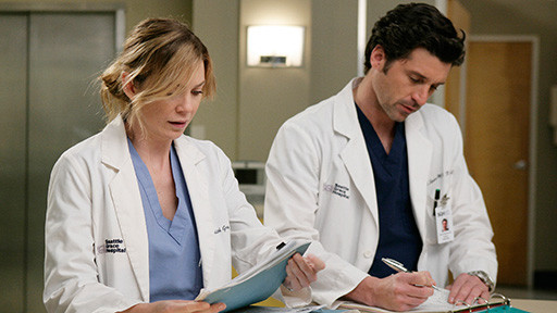 Grey's Anatomy Meredith e Derek