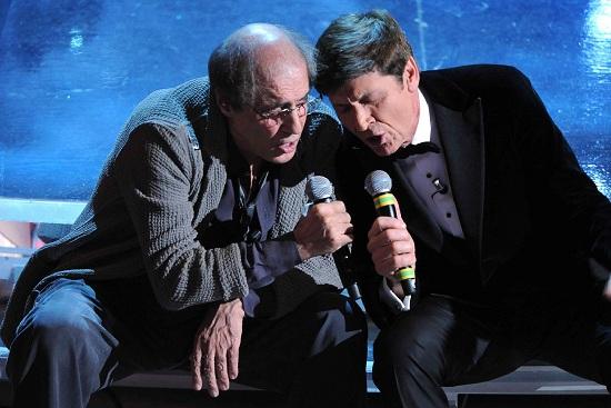 Adriano Celentano e Gianni Morandi insieme in tv