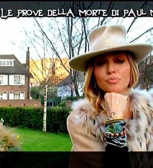 paola barale mistero 2012 italia1 mccartney