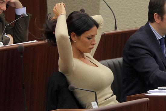 Nicole Minetti, consigliera regionale della Lombardia